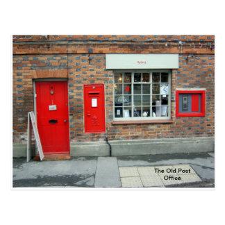 Cartão Postal A estação de correios velha