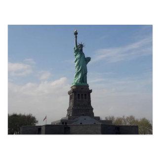 Cartão Postal A estátua da liberdade