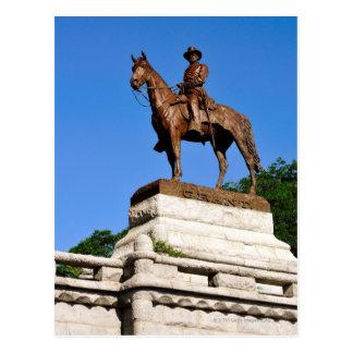 Cartão Postal A estátua de Ulysses S. Grant sobre o Grant