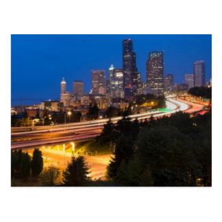 Cartão Postal A estrada a Seattle