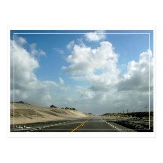 Cartão Postal A estrada ao cabo Hatteras