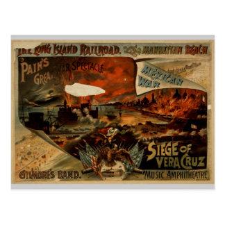 Cartão Postal A estrada de ferro de Long Island