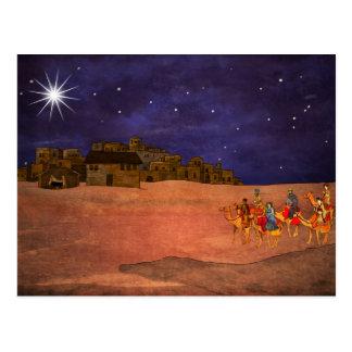 Cartão Postal A estrela sobre Bethlehem