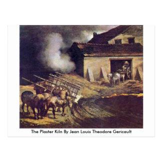Cartão Postal A estufa do emplastro por Jean Louis Theodore