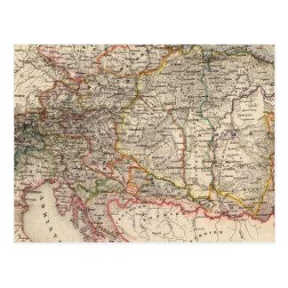 Cartão Postal A Europa Central