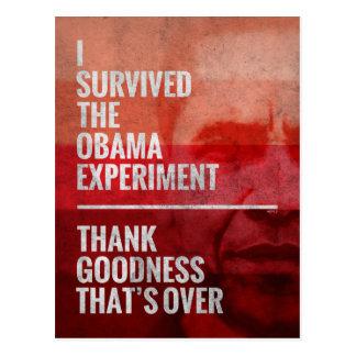 Cartão Postal A experiência de Obama