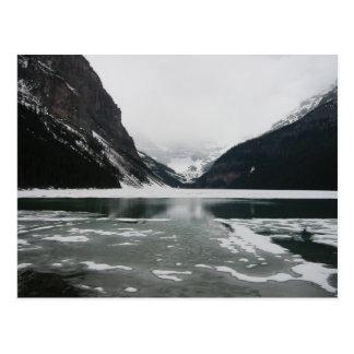 Cartão Postal A extremidade do inverno, Lake Louise