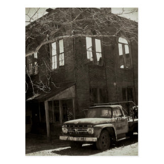 Cartão Postal A fábrica velha