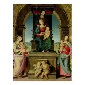 Cartão Postal A família de St Anne, c.1507
