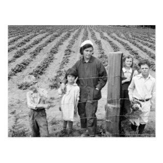 Cartão Postal A fazenda nova da família de Arnold - 1939