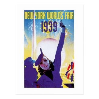 Cartão Postal A feira de mundo de New York, 1939