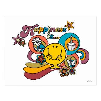Cartão Postal A felicidade do Sr. Feliz   é…