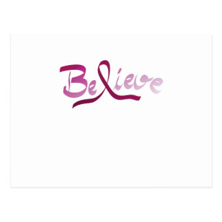Cartão Postal A fita do rosa do sobrevivente do cancro da mama
