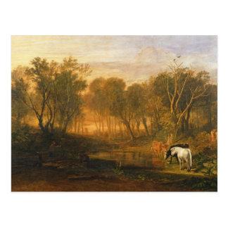 Cartão Postal A floresta do Bere, c.1808
