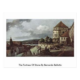 Cartão Postal A fortaleza da pedra por Bernardo Bellotto