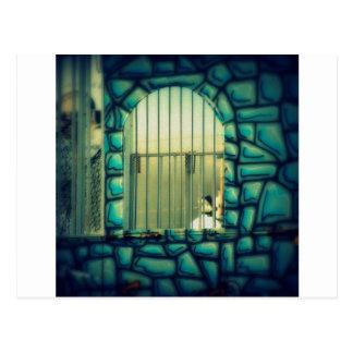 Cartão Postal A gaiola de Rapunzel