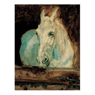 Cartão Postal A gazela do cavalo branco - Henri Toulouse-Lautrec