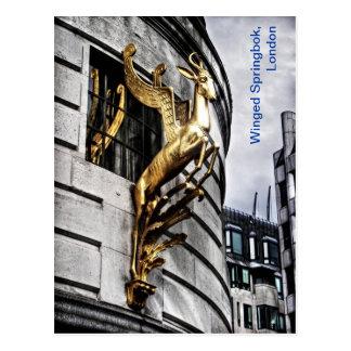 Cartão Postal A gazela voada de Londres
