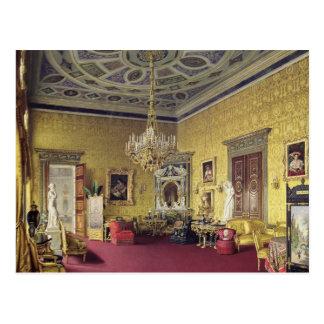 Cartão Postal A grande ágata Salão no palácio de Catherine