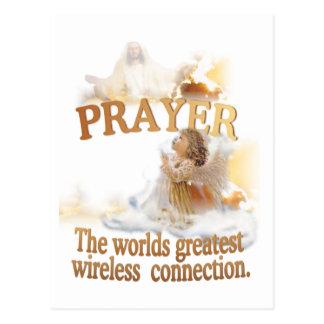 Cartão Postal A grande conexão sem fio dos mundos angélicos da