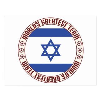 Cartão Postal A grande equipe de Israel