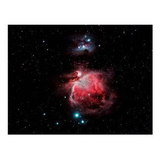 Cartão Postal A grande nebulosa em Orion