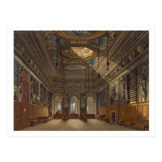 Cartão Postal A Guarda Câmara do rei, castelo de Windsor, 'de