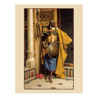 Cartão Postal A guarda de palácio por Ludwig Deutsch