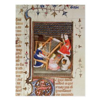 Cartão Postal A história de Gaia, do ` De Claris Mulieribus'