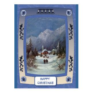 Cartão Postal A igreja da vila