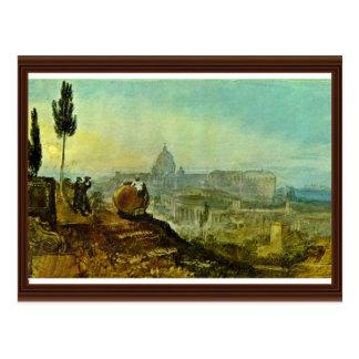 Cartão Postal A igreja do St Peter do sul por Turner J