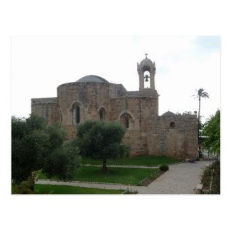 Cartão Postal A igreja Líbano de St John