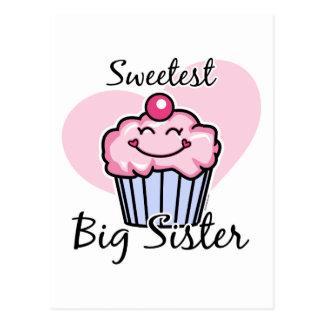 Cartão Postal A irmã mais velha a mais doce