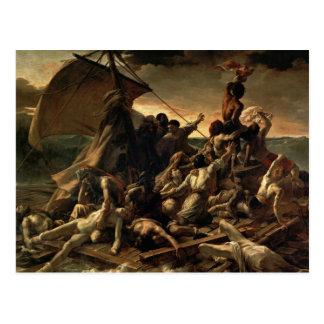 Cartão Postal A jangada do Medusa - Théodore Géricault