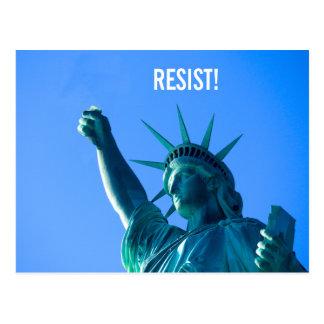 Cartão Postal A liberdade resiste