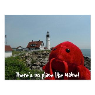 Cartão Postal A linha de Maine