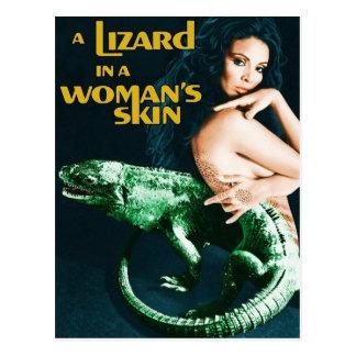 Cartão Postal A Lizard in a Woman's Skin, vintage horror movie