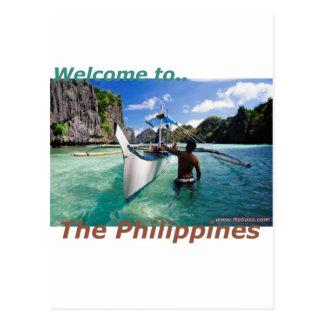 Cartão Postal A loja da lembrança e de novidade de Filipinas
