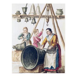 Cartão Postal A loja de Bellmaker Venetian