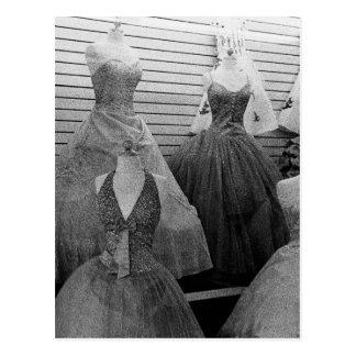 Cartão Postal A loja de vestido