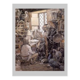 Cartão Postal A loja mágica