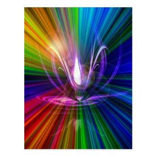 Cartão Postal A luz e a energia são a mágica 2