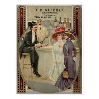 Cartão Postal A.M. Uísque 1900-1925 de Kleeman