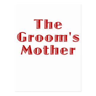 Cartão Postal A mãe dos noivos