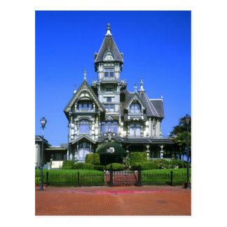 Cartão Postal A mansão de Carson em Eureka, Califórnia