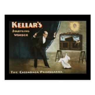 Cartão Postal A maravilha sobressaltado de Kellar