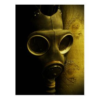 Cartão Postal A máscara de gás