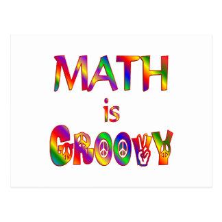 Cartão Postal A matemática é Groovy