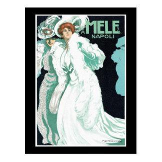 Cartão Postal A. Mele & formas do italiano do Co.