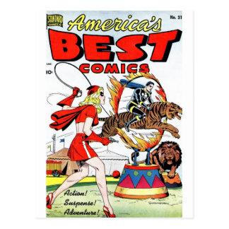 Cartão Postal A melhor história em quadrinhos #31